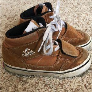 Vans toddler shoes size 10.